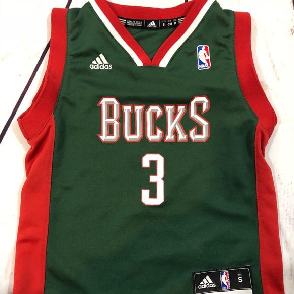 classic fit 98a6d b1205 Kids Milwaukee Bucks Jersey
